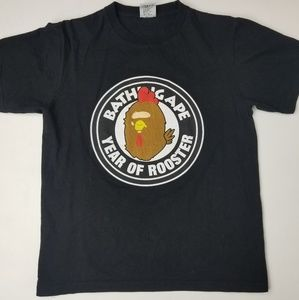 A bathing ape year of the rooster tee